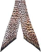 Rockins 'Leopard's Teeth' printed skinny scarf