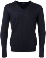 Drumohr v-neck jumper - men - Silk/Cashmere - 46