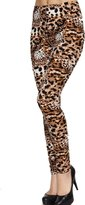 Leggings4U Women's Call of the Wild Animal Pattern Fashion Leggings
