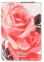 Kate Spade Cameron Street Roses Passport Holder