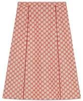 Gucci Women's Beige Wool Skirt.