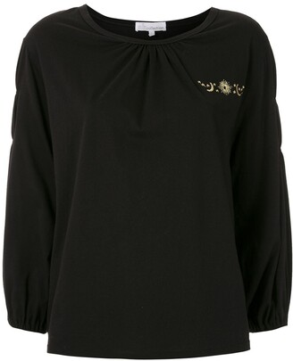 Nk embroidered Rod blouse