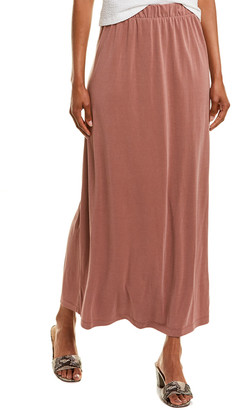 Club Monaco Sandwash Linen-Blend Maxi Skirt