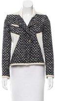 IRO Aubrey Leather-Accented Jacket