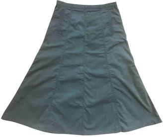 Iris von Arnim Green Cotton Skirt for Women