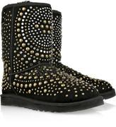 Mandah studded suede boots