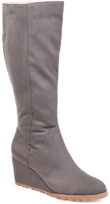 Journee Collection Parker Extra Wide Calf Boot