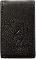 Polo Ralph Lauren Men's Wallet, Pebbled Money Clip