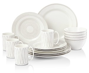 Kate Spade Charlottle Street West Dinnerware Set, 16 Piece