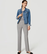 LOFT Tall Bi-Stretch Pintucked Straight Leg Pants in Marisa Fit