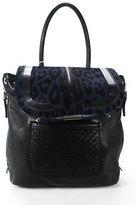 Barbara Bui Black Navy Air Bag $1115 90087547