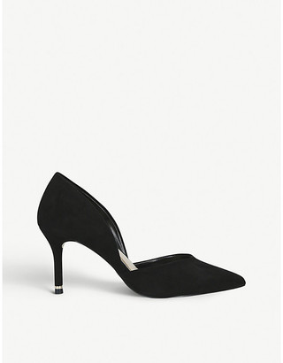 Carvela Lady pointed-toe suede courts