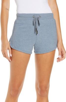 Vintage Havana Rib Hacci Tie Waist Shorts