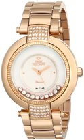 Swiss Precimax Women's SP13353 Allure Analog Display Swiss Quartz Gold Watch