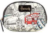 Harrods Monochrome London Cosmetics Case