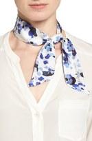 Kate Spade Women's 'Hydrangea' Skinny Silk Scarf