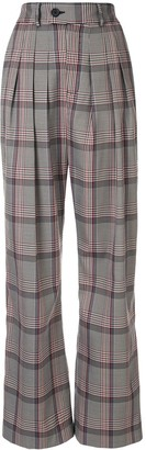 Strateas Carlucci Pleated High-Waisted Trousers