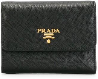 Prada Saffiano tri-fold wallet