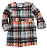 Milly Minis Girl's Plaid Coat