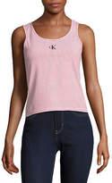Calvin Klein Jeans Striped Logo Tank