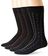 Dockers 4 Pack Patterned Dress Socks