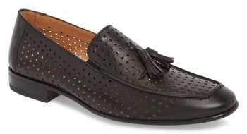 Mezlan Xian Perforated Tassel Loafer