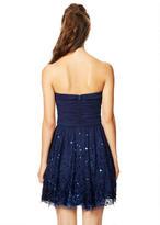 Delia's Billie Sequin Hem Mesh Dress