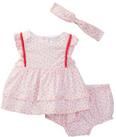 Absorba Dress, Bloomer, & Headband Set (Baby Girls)
