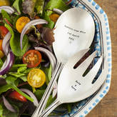 The Cutlery Commission Personalised Silver Plated Serving Spoons