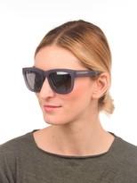 3.1 Phillip Lim Frosted Mauve Square Sunglasses