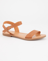 Soda Sunglasses Ankle Strap Womens Sandals