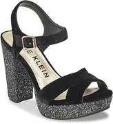 Anne Klein Lalima Velvet Platform Sandal - Women's