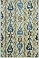 "D Style Menagerie MEN104 Ivory 8'2"" x 10' Area Rug"