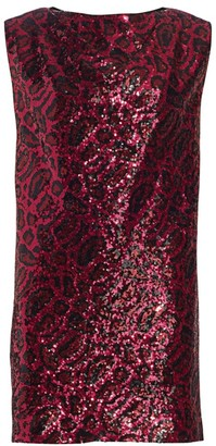 RtA Stevie Sleeveless Sequin Shift Dress