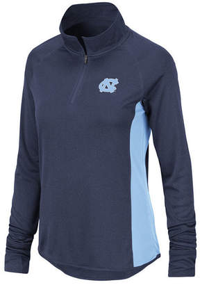 Colosseum Women North Carolina Tar Heels Albi Quarter-Zip Pullover