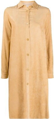 Forte Forte Single-Breasted Ribbed Coat