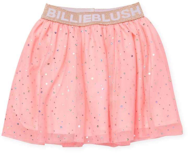 Billieblush Little Girl's & Girl's Polka Dot Print Skirt