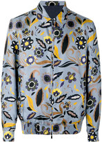 Fendi floral bomber jacket - men - Silk/Cupro - 44