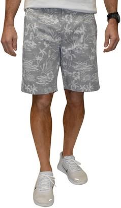 Vintage 1946 Faded Tropical Poplin Shorts