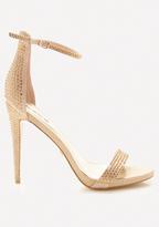 Bebe Satinne Sandals