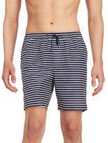 Michael Kors Striped Swim Trunks