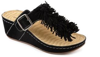 David Tate Fiesta Wedge Sandal