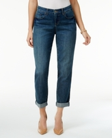 Style&Co. Style & Co Style & Co Petite Boyfriend Jean Curvy Marseille Wash Skinny Jeans, Created for Macy's