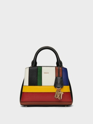 DKNY Paige Small Patchwork Satchel