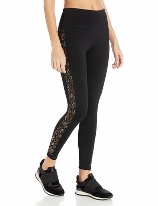 Calvin Klein Women's Snake Rhinestud High Waist Legging