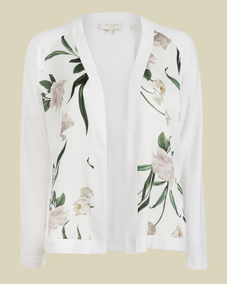 Ted Baker TAYAA Elderflower open cardigan