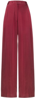 Maison Flaneur Wide Leg Trousers