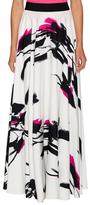 Milly Tokyo Floral Side Split Maxi Skirt