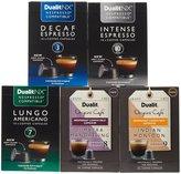 Dualit Coffee Capsule Variety 50 pack - Intense, Lungo, Decaf, Monsoon, Sumatra
