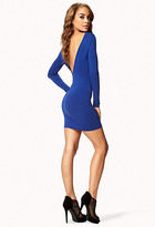 Forever 21 Open Back Bodycon Dress